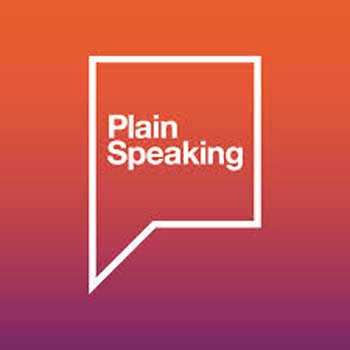 plain-speaking